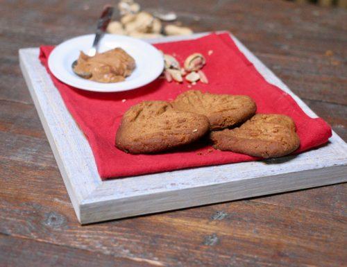 biscotti con burro d'arachidi