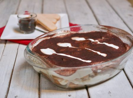 tiramisù con savoiardi senza uova nella crema