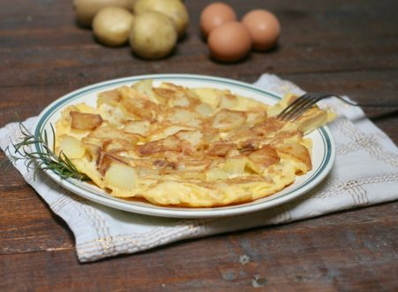 frittata di patate profumate al rosmarino