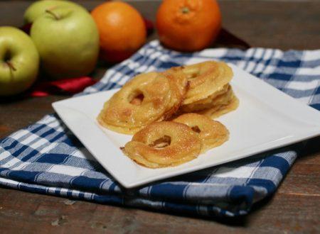 ricetta delle frittelle di mele profumate all'arancia