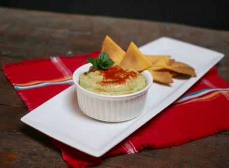 Guacamole cremoso con yogurt greco