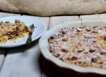 sbriciolata alla nocciolata con farina di mais e nocciole