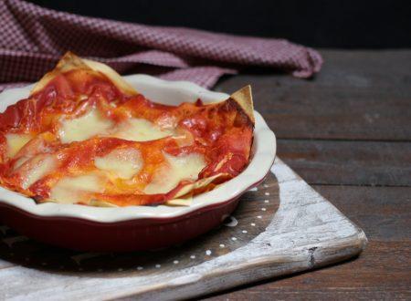 lasagna alla pizzaiola