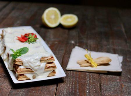 millefoglie furba con crema al limone