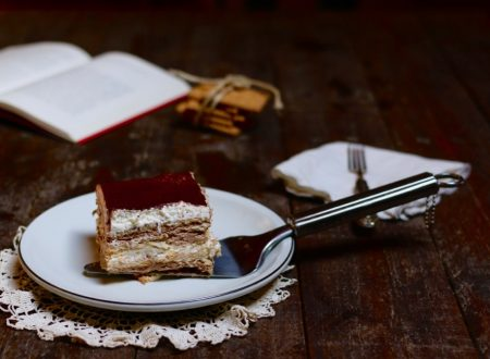 mattonella senza cottura panna e cioccolato