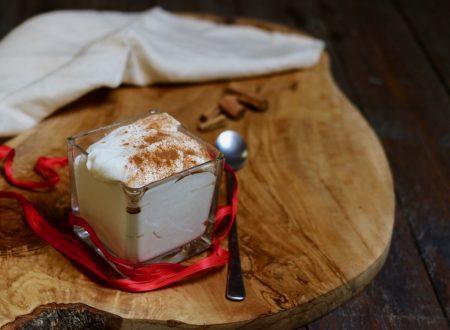 Crema al latte e yogurt per dessert o per farcire