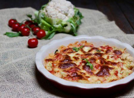 Cavolo di pizza ( pizza di cavolfiore)