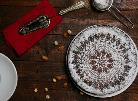 torta cioccolato e frutta secca senza farina