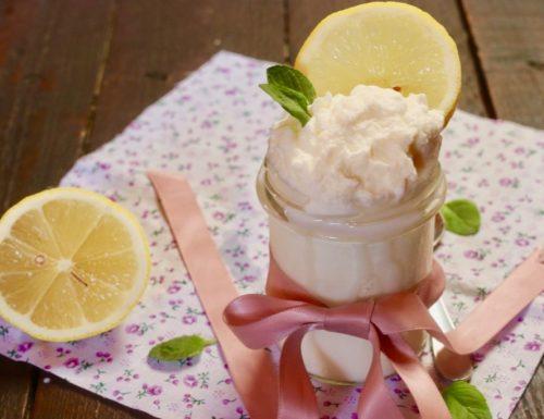 crema montata al limone