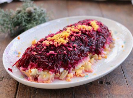 Shuba ( insalata di aringhe in pelliccia)