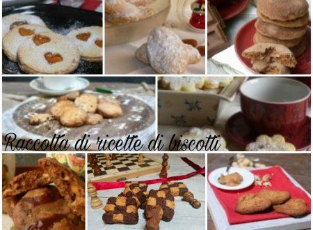 raccolta ricette di biscotti