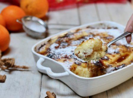 dolce di panettone e crema pasticcera