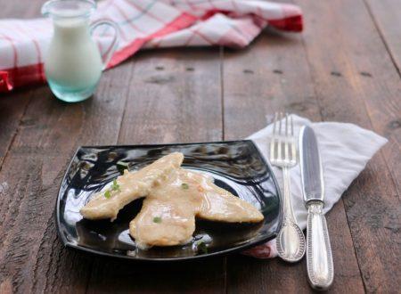 petto di pollo al latte