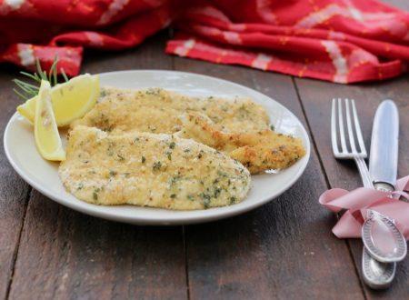 finta cotoletta di pollo leggera e saporita