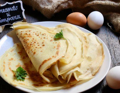 come fare le crêpes ( ricetta base)