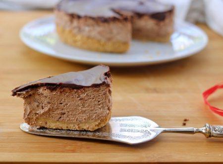 Torta furba al cioccolato senza cottura