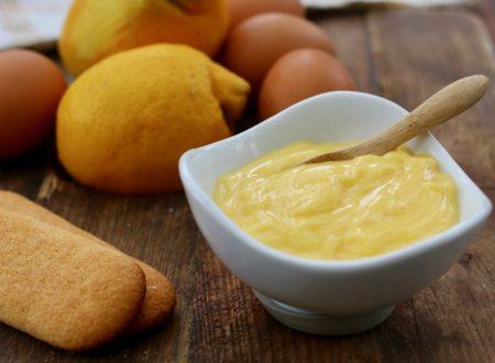 Crema veloce al limone cotta in microonde