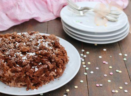 torta mimosa al cioccolato con crema al mascarpone