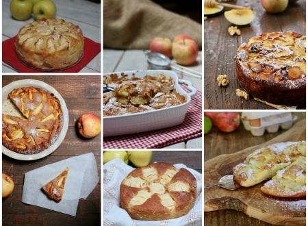 raccolta di ricette dolci con le mele