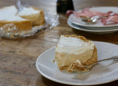 torta cremosissima al cappuccino senza cottura