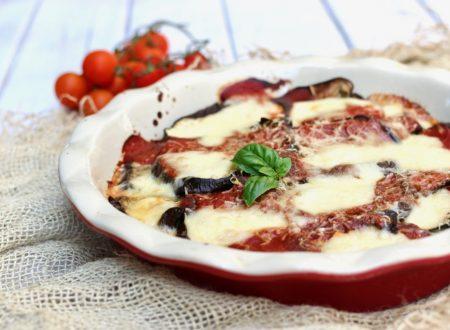 parmigiana di melanzane al gorgonzola