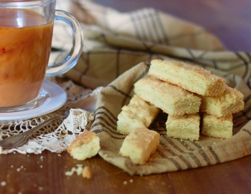 Shortbread, biscotti inglesi senza uova