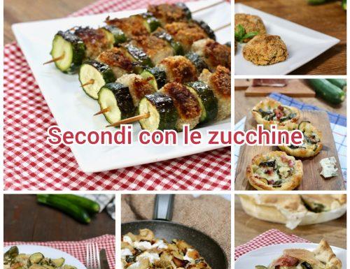 secondi piatti con le zucchine
