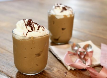 coppa caffè con panna e nutella