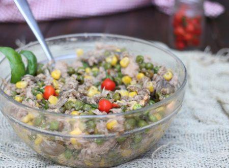 insalata di tonno 5 minuto nulla di cotto