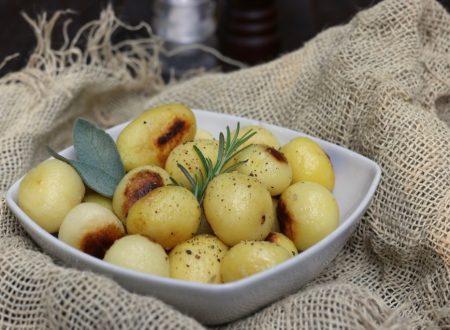 patatine croccanti in padella