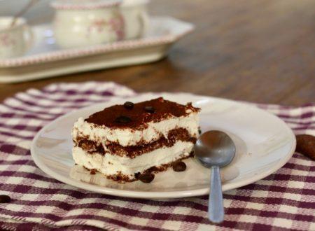 torta cremosa con pavesini e ricotta