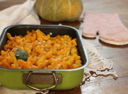 pasta al forno cremosa ricotta e zucca senza besciamella