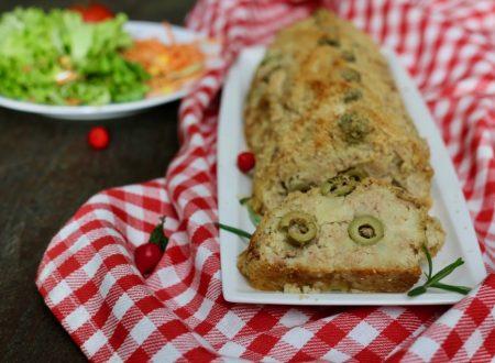 polpettone tonno patate e olive