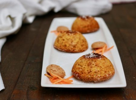 tortine carote e amaretti