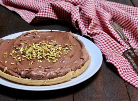 finta crostata al cioccolato senza cottura