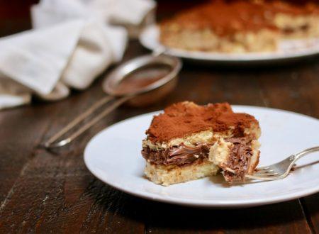 torta tiramisù alla nutella senza cottura
