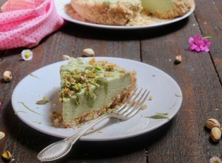 torta cremosissima al pistacchio senza cottura