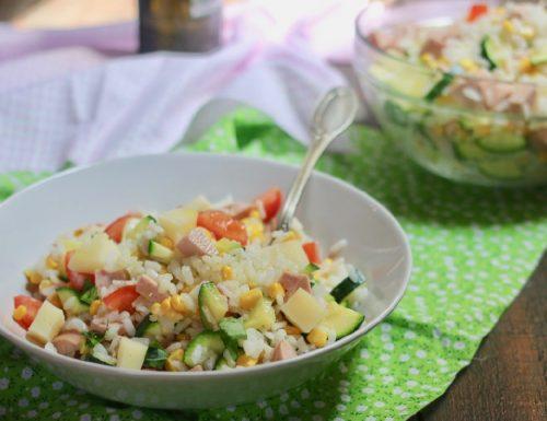 la mia insalata di riso