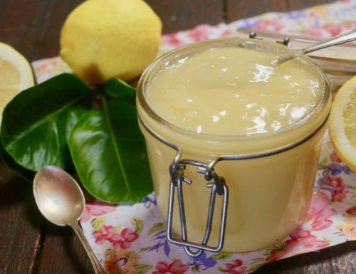 crema di limone all' acqua