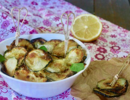 zucchine fritte croccanti senza pastella