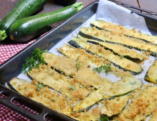 zucchine gratinate velocissime
