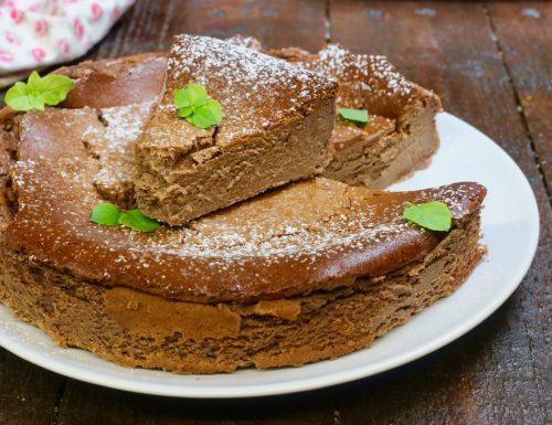 San Sebastian cheesecake al cioccolato