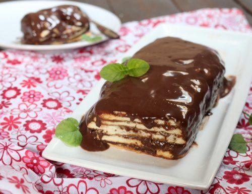 mattonella biscotti e cioccolato