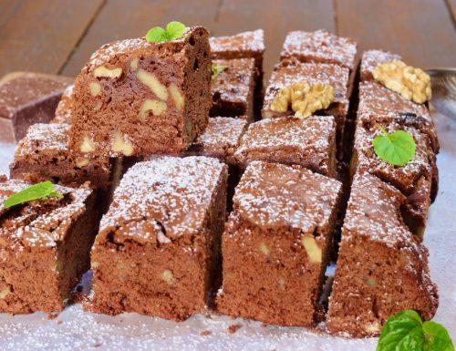 Cubotti cioccolato fondente e noci