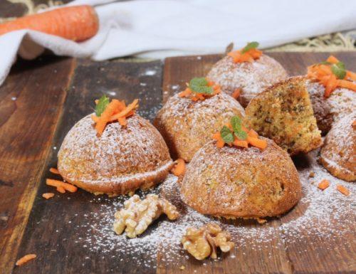 tortine carote e noci