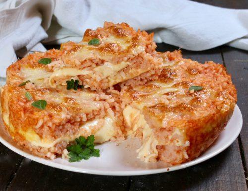 torta di riso alla pizzaiola