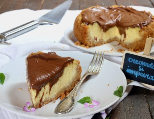 new york cheesecake alla nutella