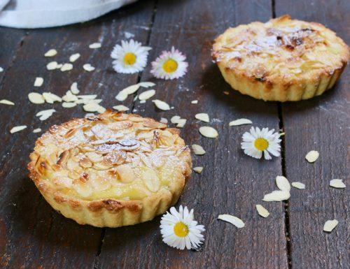 crostatine crema e mandorle