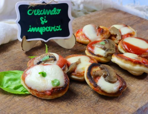 Mini pizzette in padella