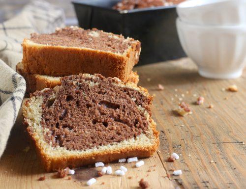 plum cake vaniglia e cioccolato